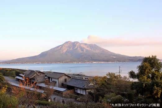 中薩摩 桜島
