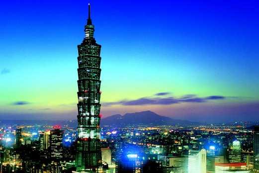 台北市内 夜景 ※イメージ