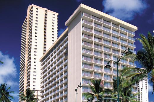 パシフィックビーチホテル 外観イメージ