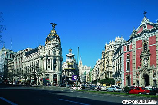 マドリードの街並み/イメージ